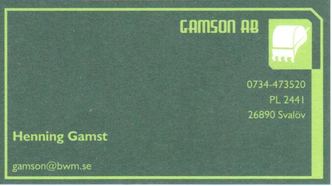Gamson AB
